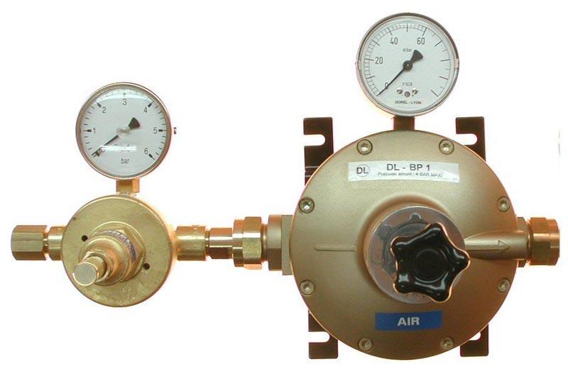 Détendeurs basse pression DL55 DD + BP1
