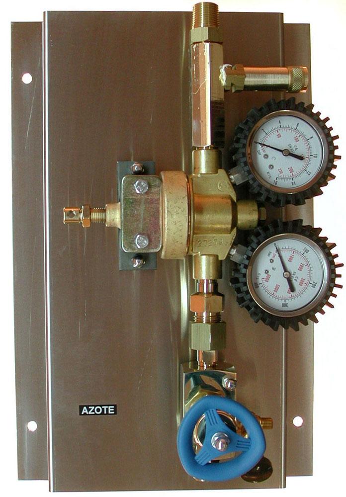 Cliquer pour fermer la fenêtre -  Detendeur basse pression Azote DL 55